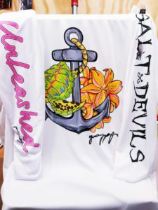 Unleashed - Sea Turtle Long Sleeve Shirt - Salt Angels