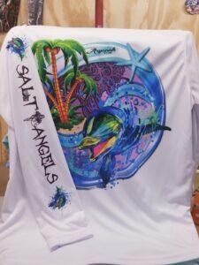 Salt Angels - Dolphin Beach Women's Long Sleeve Shirt
