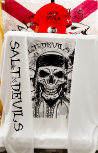 Salt Devils - Kracken Skull Long Sleeve Shirt