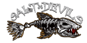 Salt Devils - Skull Fish Decal