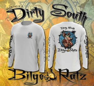 Salt Devils - Dirty South Bilge Ratz Long Sleeve Performance Shirt