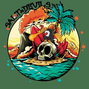 Salt Devils - Stranded Long Sleeve Performance Shirt