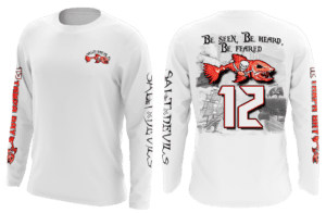 Salt Devils - Tampa Bay #12 Long Sleeve Performance Shirts