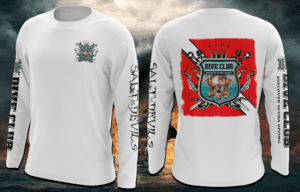 Salt Devils - Dive Club Long Sleeve Performance Shirt