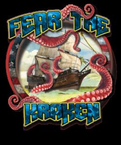 Salt Devils- Fear the Kraken Short Sleeve Performance Shirt