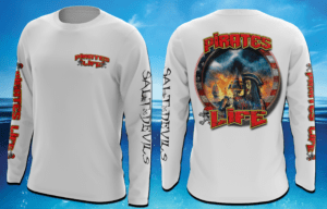 Salt Devils - Pirate Life Long Sleeve Performance Shirt