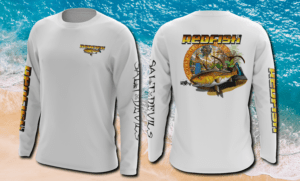 Salt Devils - Florida Redfish Long Sleeve Performance Shirt
