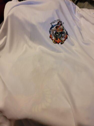 Salt Devils - Florida Shark Anchor Mermaid Short Sleeve Performance Shirt photo review