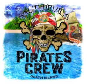 Salt Devils - Death Island Long Sleeve Performance Shirt