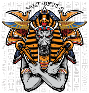Salt Devils- Anubis Long Sleeve Performance Shirt