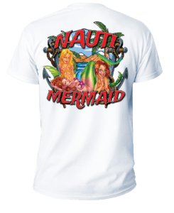 Salt Devils - Nauti Mermaid Short Sleeve Performance Shirt