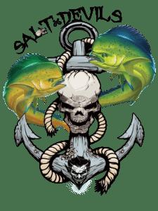 Salt Devils - Mahi Anchor Long Sleeve Performance Shirt