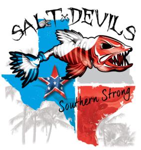 Salt Devils - Texas Southern Strong Long Sleeve Performance Shirt