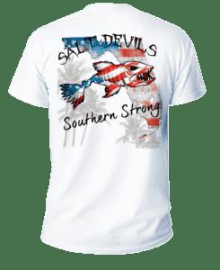 Salt Devils - Florida American Southern Strong Short Sleeve Performance Shirt