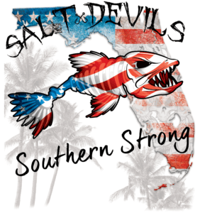 Salt Devils - Florida Flag Southern Strong Long Sleeve Performance Shirt