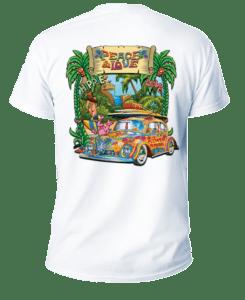 Salt Devils - Peace Beach Short Sleeve Performance Shirt