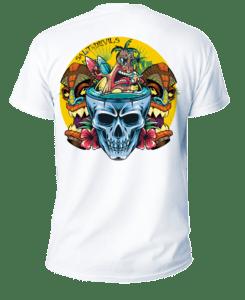Salt Devils - Tiki Surf Short Sleeve Performance Shirt