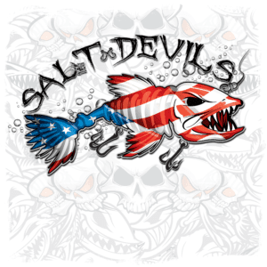 Salt Devils - American Get Hooked Long Sleeve Performance Shirt