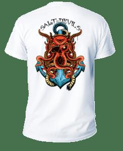Salt Devils- Devil Kraken Short Sleeve Performance Shirt