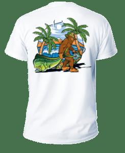Salt Devils - Bigfoot Beach Short Sleeve Performance Shirt