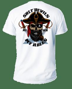 Salt Devils - My Sea Short Sleeve Performance Shirt