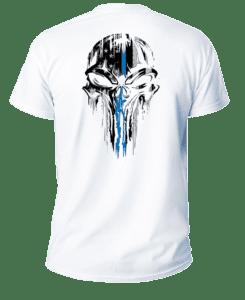 Salt Devils - Thin Blue Line Punisher Short Sleeve Performance Shirt
