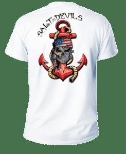 Salt Devils - American Anchor Short Sleeve Performance Shirt